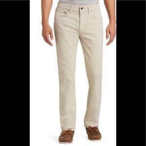 Jos A. Bank traditional fit khaki pants